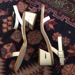 Like New - Tibi Peyton City Sandals with Box
